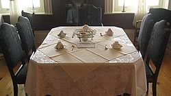 Photo of the victorian tea room